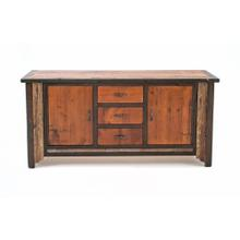 Cody 2 Door 3 Drawer Hutch Base Only - Door/3 Drawer base Only