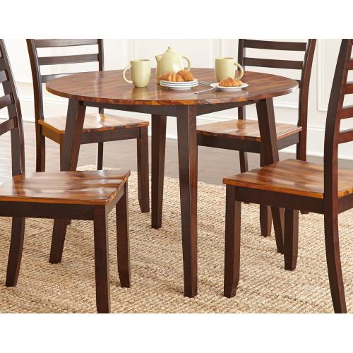Gallery - Abaco 5 Piece Drop-Leaf Set(Table & 4 Side Chairs)