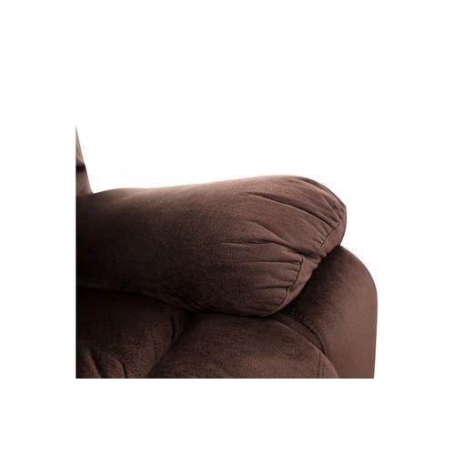 Porter International Designs - Ramsey Chocolate Recliner Sectional, M6052