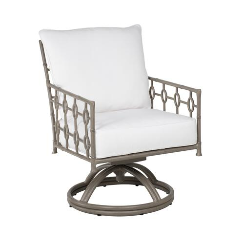 Savannah Cushion Swivel Rocker