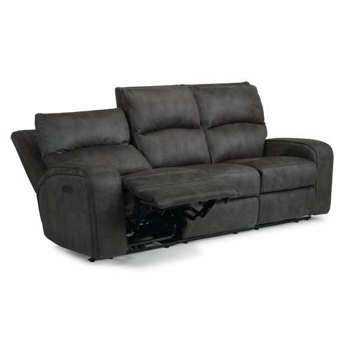 Flexsteel - Nirvana Power Reclining Sofa with Power Headrests