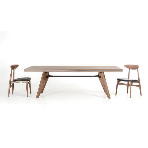 Modrest Kennedy Modern Walnut Dining Table