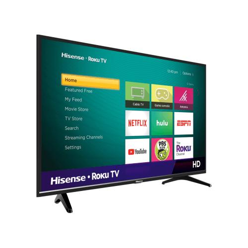 """32"""" Class - H4030 Series - HD Hisense Roku TV (2019) SUPPORT"""