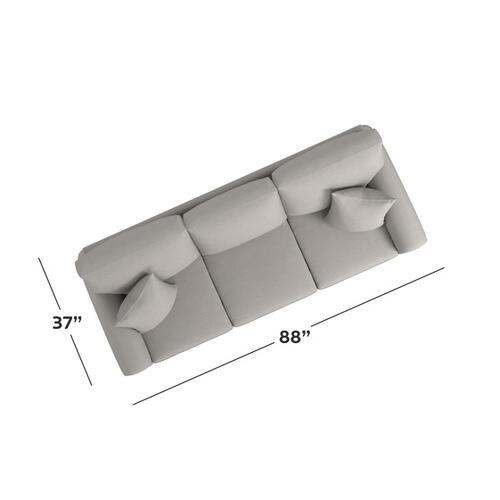 Bassett Furniture - Carolina Sock Arm Sofa