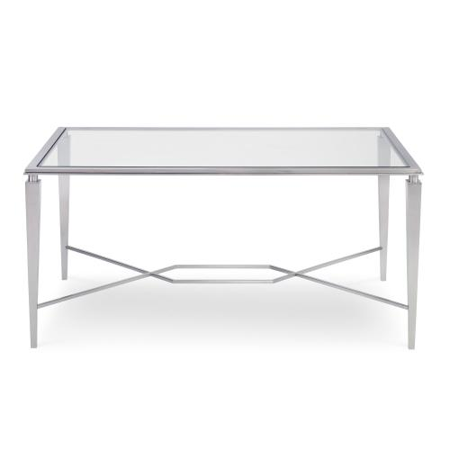 Intersection Cocktail Table - Steel