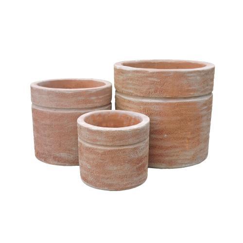 Utila Cylinder Planter - Set of 3
