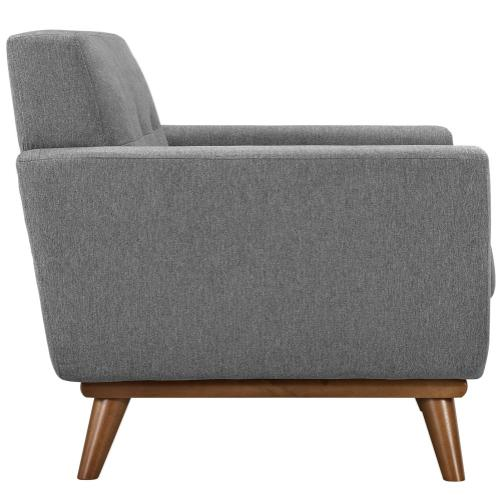 Modway - Engage Armchair and Sofa Set of 2 in Expectation Gray