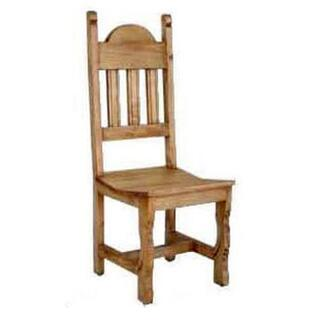 Wood Seat Plain Chair