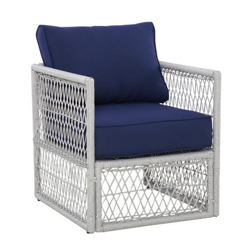 Simple Weave Chair Frame in Gray (2pcs)