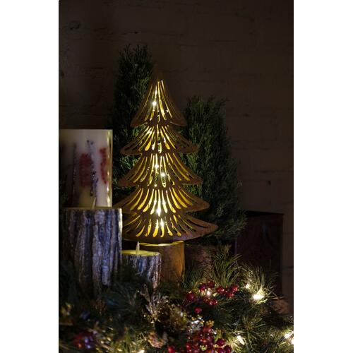 Rustica Pine Tree w/ LED String Lights