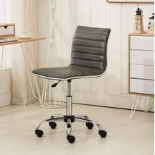 Fremo Chromel Adjustable Air Lift Office Chair in Grey