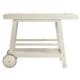 Renzo Indoor / Outdoor Bar Cart - White