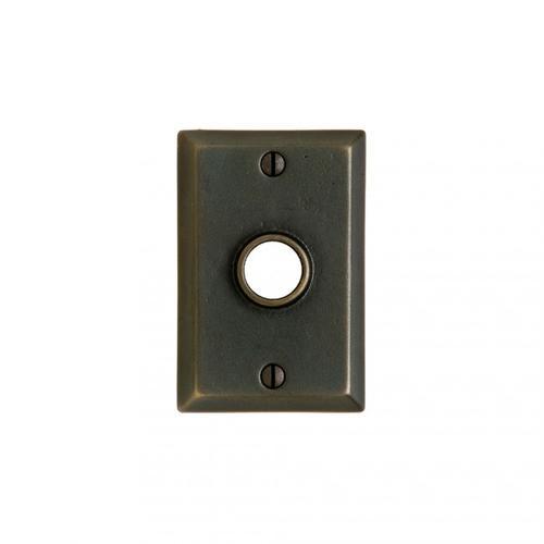 "Rectangular 2 1/2""x3 3/4"" Silicon Bronze Brushed"