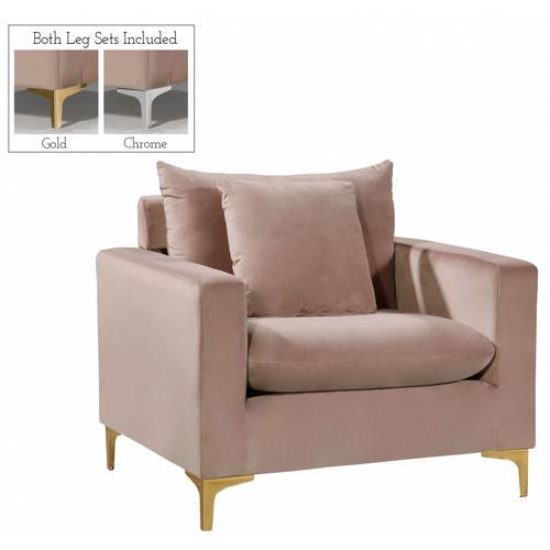 "Naomi Velvet Chair - 36"" W x 33.5"" D x 30"" H"