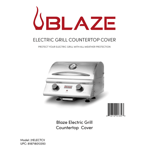 Blaze Electric Grill Countertop Cover
