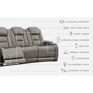 Signature Design By Ashley - The Man-den Power Reclining Sofa