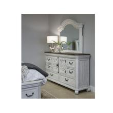 Two Tone Drawer Dresser