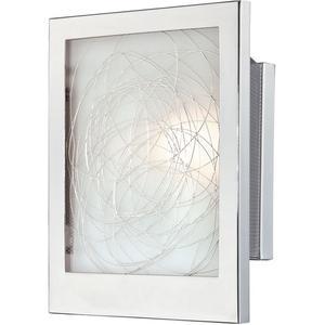Wall Lamp, Chrome/glass Shades W.INNER Deco., E12 Type B 60w