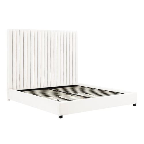 Product Image - Arabelle White Bed in Queen