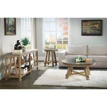 See Details - Weatherford - Round Coffee Table Top - Bluestone Finish