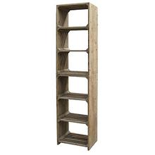 Hughes Open Bookcase-Bleached Pine