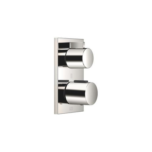 Dornbracht - Concealed thermostat with three-way volume control - platinum