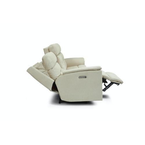 Flexsteel - Mason Power Reclining Sofa with Power Headrests