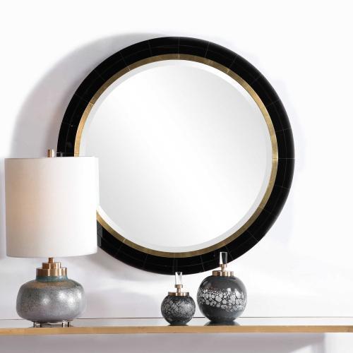 Nayla Round Mirror