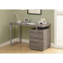 "COMPUTER DESK - 48""L / DARK TAUPE LEFT OR RIGHT FACING"