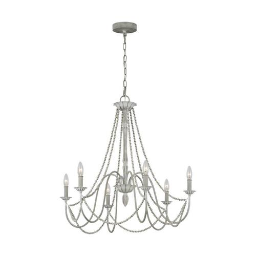 Maryville Chandelier Washed Grey