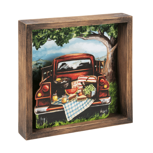 Life's A Picnic - Shadow Boxes (6 pc. ppk.)
