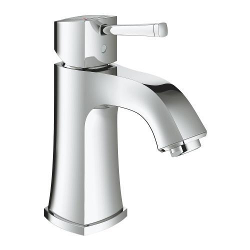 Grandera Single Hole Single-handle M-size Bathroom Faucet 1.2 Gpm Less Drain