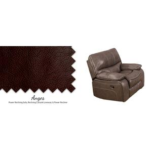 Reclining Console Loveseat w/ USB