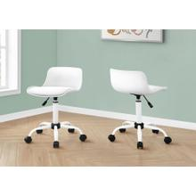 See Details - OFFICE CHAIR - WHITE JUVENILE / MULTI-POSITION