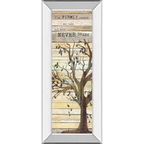 """""""I Am Firmly Planted"""" By Marla Rae Mirror Framed Print Wall Art"""