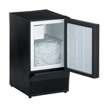 Black Field reversible ADA Series / ADA Height Compliant Crescent Ice Maker