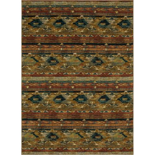 "Spice Market Infused Aquamarine 2' 4""x7' 10"" Runner"