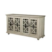 TV Stand - Antique Silve