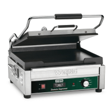 Large Italian-Style Flat Grill with Timer - 120V