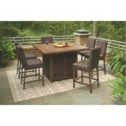 Outdoor Dining Table and 6 Chairs Product Image
