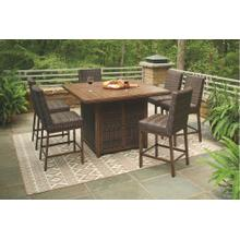 7-piece Outdoor Bar Table Set