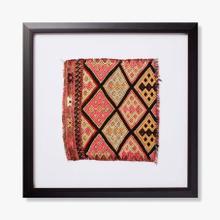 0322270005 Vintage Textile Wall Art