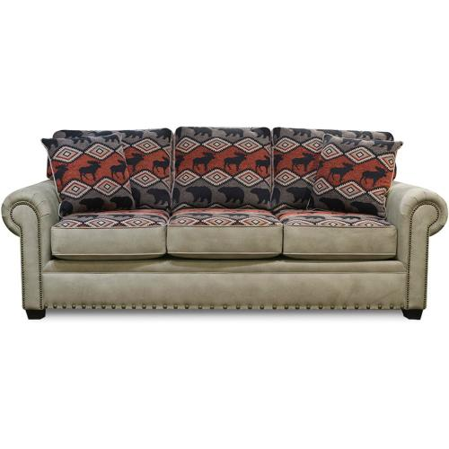 Jaden Sofa with Nails