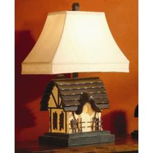 Rustic Cottage Lamp