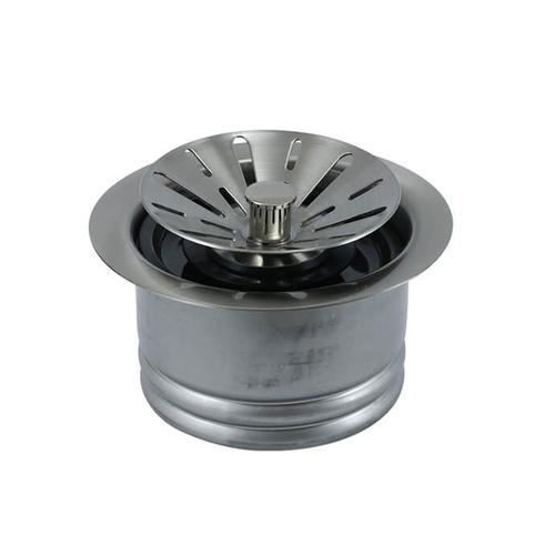 Mountain Plumbing - Contemporary - Complete Stopper & Strainer Unit Waste Disposer Trim - Extended Flange - Oil Rubbed Bronze