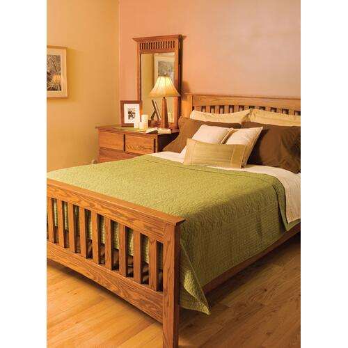 Arch Mission Bed, King