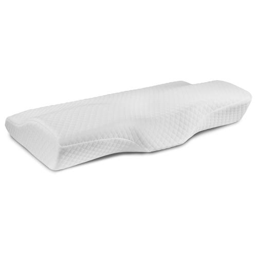 Flash Furniture - Capri Comfortable Sleep Contour Memory Foam Gel Cervical Neck Pillow - For Stomach and Side Sleepers