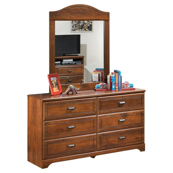 Barchan Dresser and Mirror