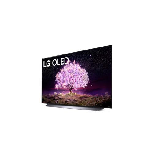 LG C1 48 inch Class 4K Smart OLED TV w/AI ThinQ® (48.2'' Diag)