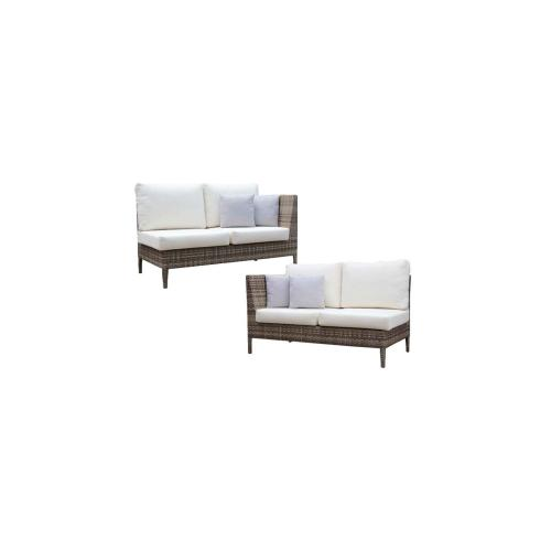 Tuscany 2-Seater Right & Left Settee